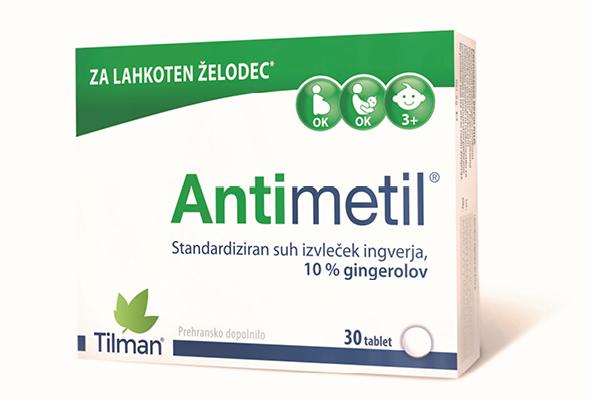 Antimetil je narejen iz ingverja